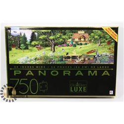 NEW 750PC PANORAMA PUZZLE (POSTER INCLUDED)