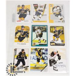 PATRICE BERGERON 14 HOCKEY CARD LOT BOSTON BRUINS