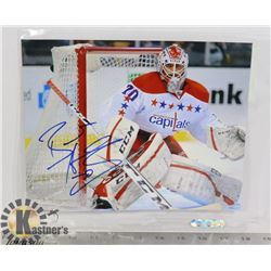 BRAYDEN HOLTBY WASHINGTON CAPITALS SIGNED PHOTO