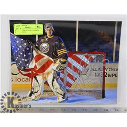 RYAN MILLER BUFFALO SABRES SIGNED PHOTO