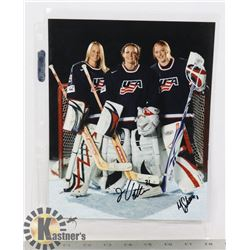 TEAM USA SIGNED 8X10 JESSE VETTER MOLLY SHAUSE