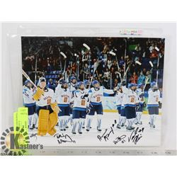 TEAM FINLAND NATIONAL WOMENS TEAM SIGNED PHOTO