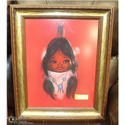 "GERDA CHRISTOFFERSEN NATIVE PRINT 22"" X 13"""