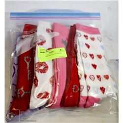 "6PK LADIES ""NOVELTY"" SOCKS"