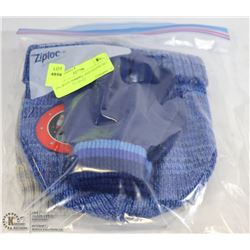 2PK BOYS TONGUE AND GLOVE SET