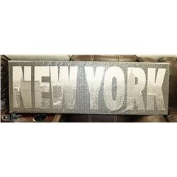 NEW YORK PICTURE 47 X 15