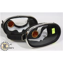 TWO NEMROD MADE IN SPAIN DIVING GOGGLES