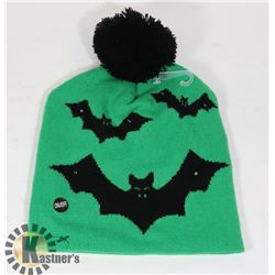 HALLOWEEN LED KNITTED TUQUE (W/ 3 FLASHING MODES)
