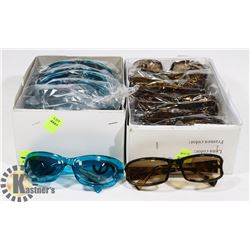TWO BOXES OF DESIGNER SUNGLASSES