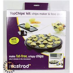 NEW TOP CHIPS KIT: CHIPS MAKER & FOOD SLICER
