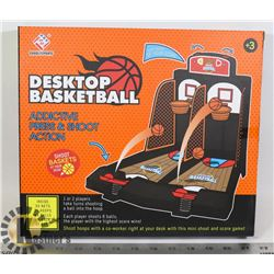 NEW DESKTOP BASKETBALL KIDS OR ADULTS TOY