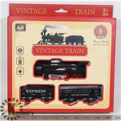NEW RAILWAY EXPRESS 13PC BATTERY POWERED TRAIN