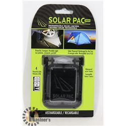 NEW LED SOLAR POWER RECHARGEABLE LANTERN