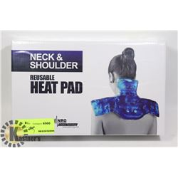 NEW NECK AND SHOULDER REUSABLE HEAT PAD