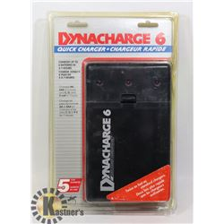 NEW DYNACHARGE 6 QUICK CHARGER