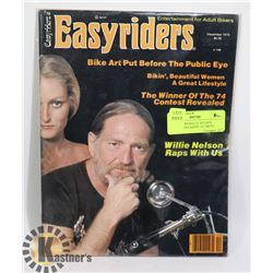 EASYRIDERS WILLY NELSON SPECIAL MAGAZINE 1ST PRINT
