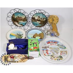 FLAT OF ASSORTED HOME DÉCOR AND COLLECTIBLES