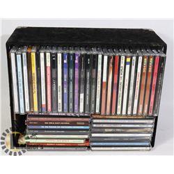 ASSORTED MUSIC CDS - ROCK, CHRISTMAS ETC