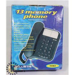 CURTIS SPEED DIAL PHONE