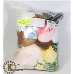 "LOT OF 6 WEBKINZ ""ADOPT A PET"" COLLECTIBLE PLUSH"