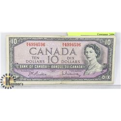 MODIFIED FACE 1954 $10
