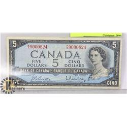 MODIFIED PORTRAIT 1954 $5