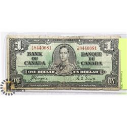 1937 BANK OF CANADA $1