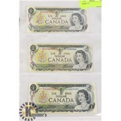 1973 $1 BILLS