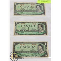1867 1967 NO SERIAL# $1 BILLS