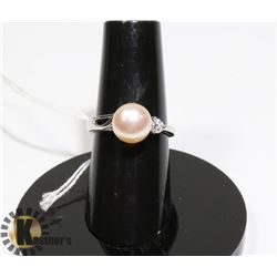 #161-FRESH WATER PEARL RING SIZE 5.5