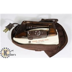 VINTAGE GE PORTABLE TRAVEL STEAM IRON