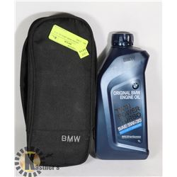 NEW GENUINE BMW 5W30 OIL IN A BMW CASE