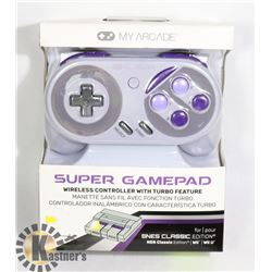NEW MY ARCADE SUPER GAMEPAD WIRELESS CONTROLLER