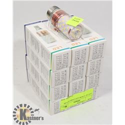 LOT OF 12 NEW LED LIGHT BULBS