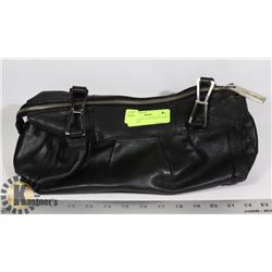 USED BLACK CALVIN KLEIN LADIES HANDBAG