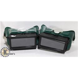 TWO WELDING GOGGLES