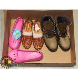 NEW WOMEN'S SHOES - SIZE 7 AND 8    BARBO LEATHER