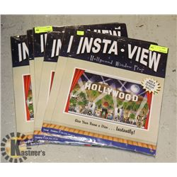 BUNDLE OF INSTA VIEW HOLLYWOOD WINDOW PROPS