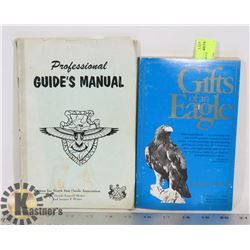 1959 GUIDES MANUAL BOOK AND EAGLE