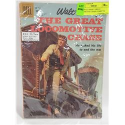 1956 WALT DISNEY GREAT LOCOMOTIVE CHASE COMIC 712