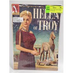 1956 HELEN OF TROY ART COVER DELL 684 GOOD VG