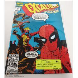 MARVEL, EXCALIBUR FT. SPIDERMAN, ISSUE #53 COMIC