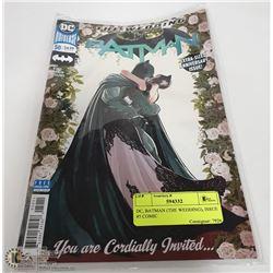 DC, BATMAN (THE WEDDING), ISSUE #5 COMIC