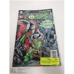 DC, GREEN LANTERN CORPS, ISSUE 8, JUNE 2012 COMIC