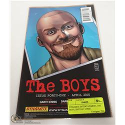 DYNAMITE ENTERTAINMENT, THE BOYS, ISSUE #41 COMIC