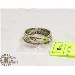 CELTIC DRAGON STAINLESS STEEL RING SZ 12