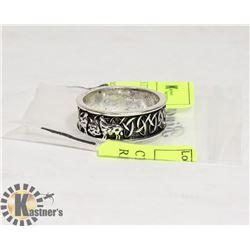 CELTIC DRAGON STAINLESS STEEL RING SZ 10