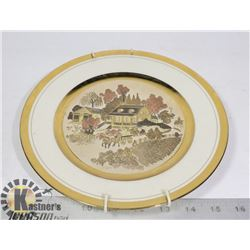 CHOKIN COUNTRY CLASSIC LIMITED EDITION PLATE 9IN