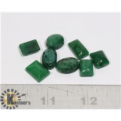 #53-GREEN EMERALD GEMSTONE 64.10ct