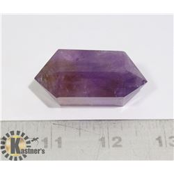 #142-PURPLE AMETHYST QUARTZ 2 POINT 46g